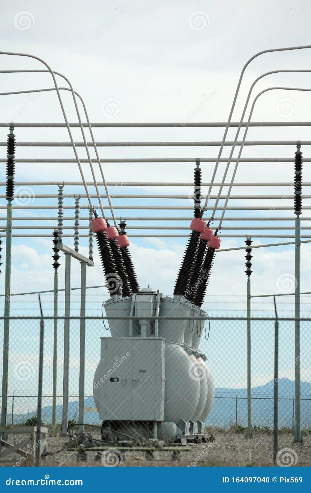 High-Voltage (HV) Electrical Substation 110kV - CR