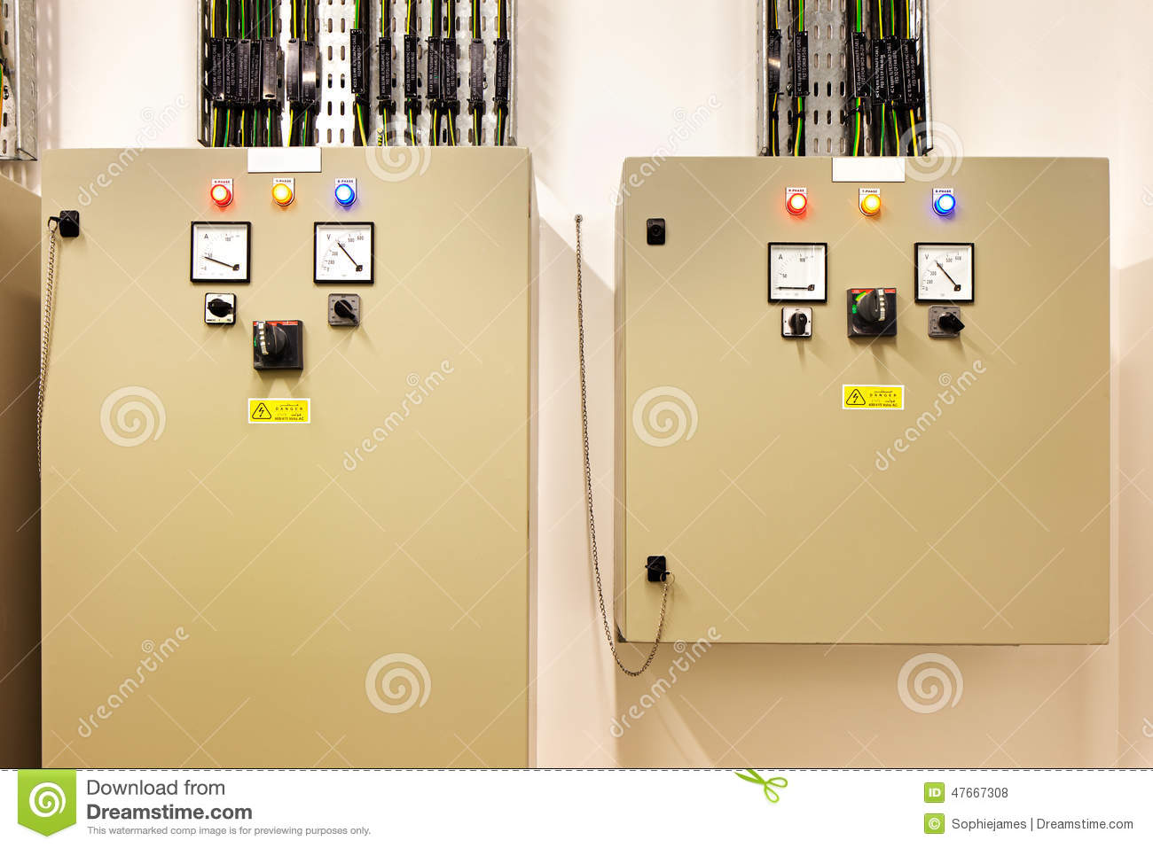 Electrical Switch Gear And Circuit Breakers That Control Heat Electricity How Do Switches Lamps In A Series Mechanical Rooms Are Necessary Part Of Every New Building They Recovery Air Conditioning Light