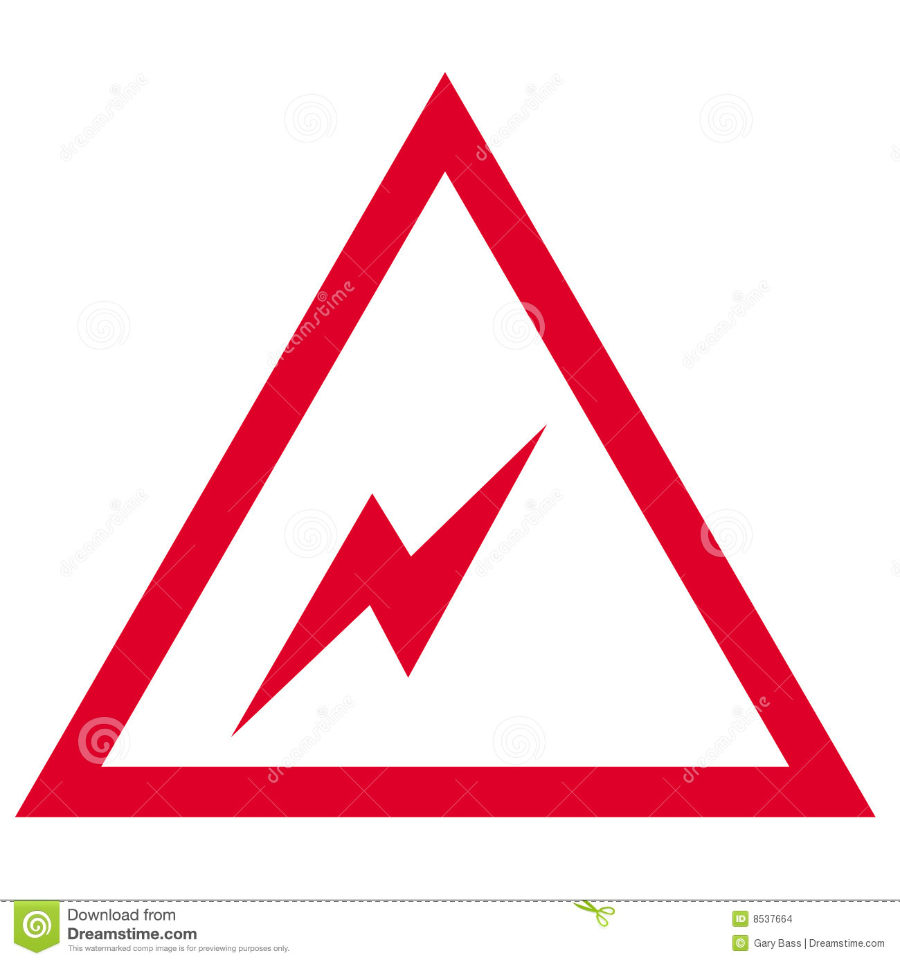 Electrical symbol stock illustration. Illustration of sign - 8537664