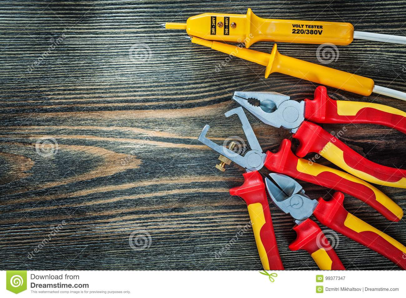 Electrical Tester Insulated Wire Strippers Cutting Nippers Plier ...