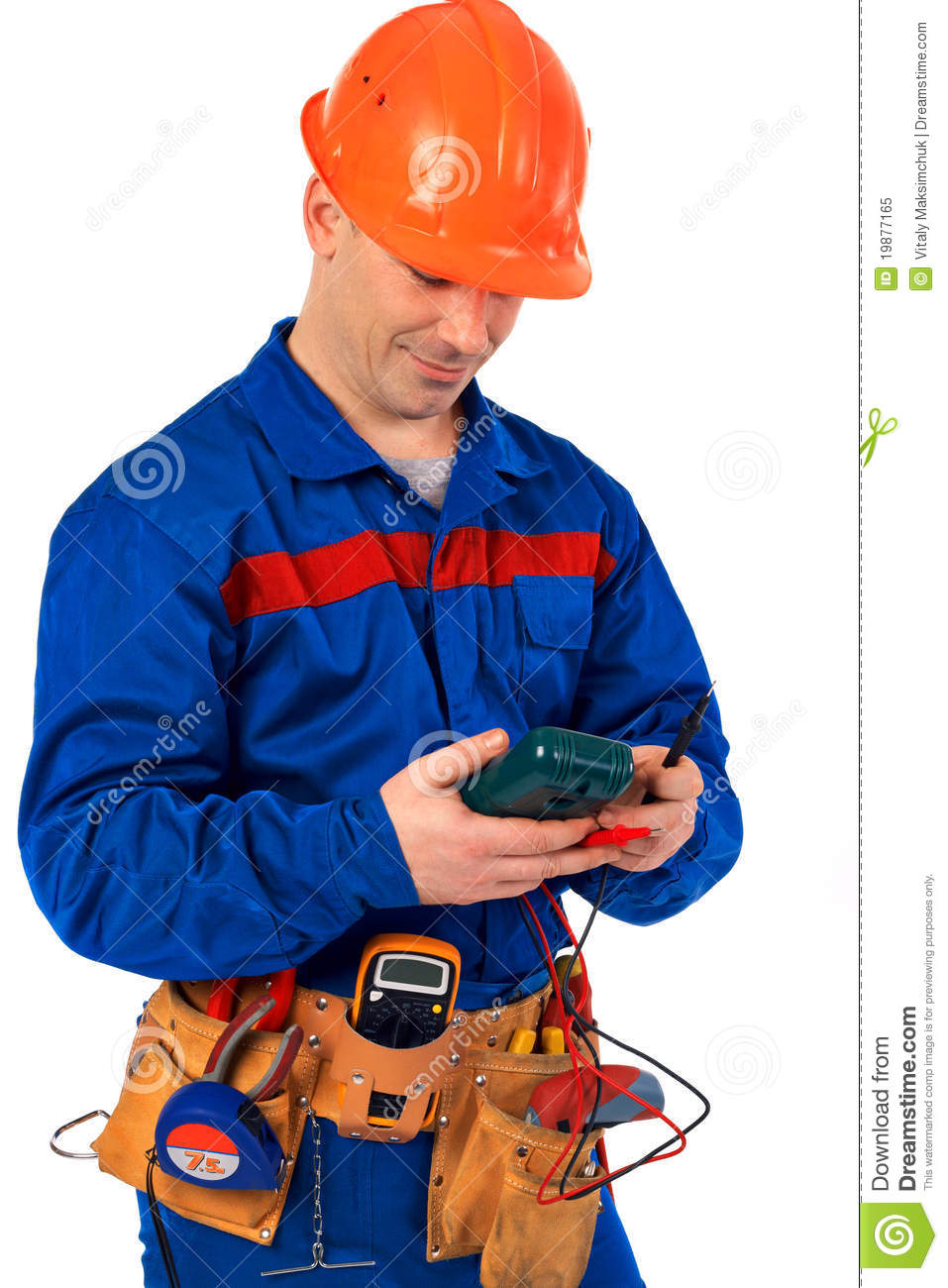 With Electrical Tool Stock Image Image Of Tehnology