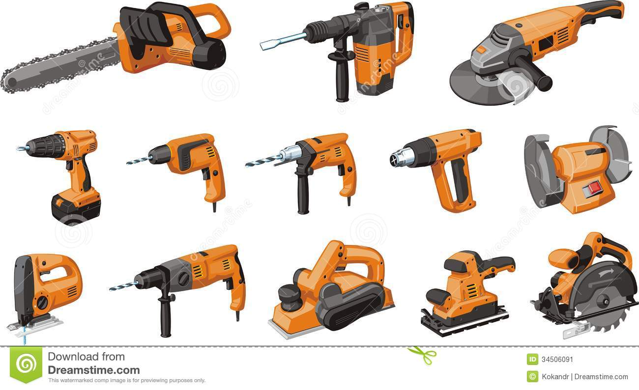 Electrical Tool Stock Image - Image: 34506091