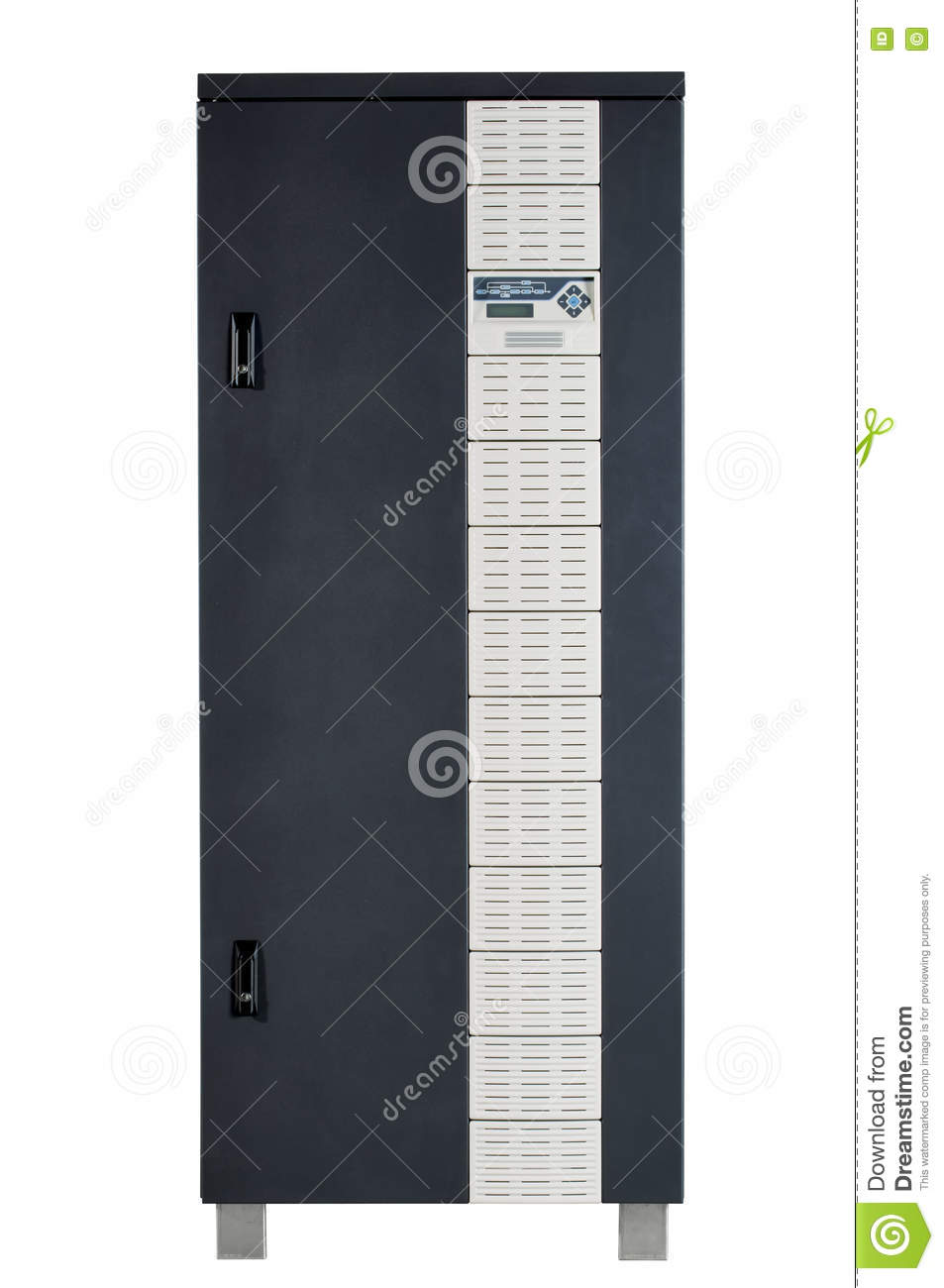 could be electrical circuit breaker fuse box control panel server power source or other electronics enclosure