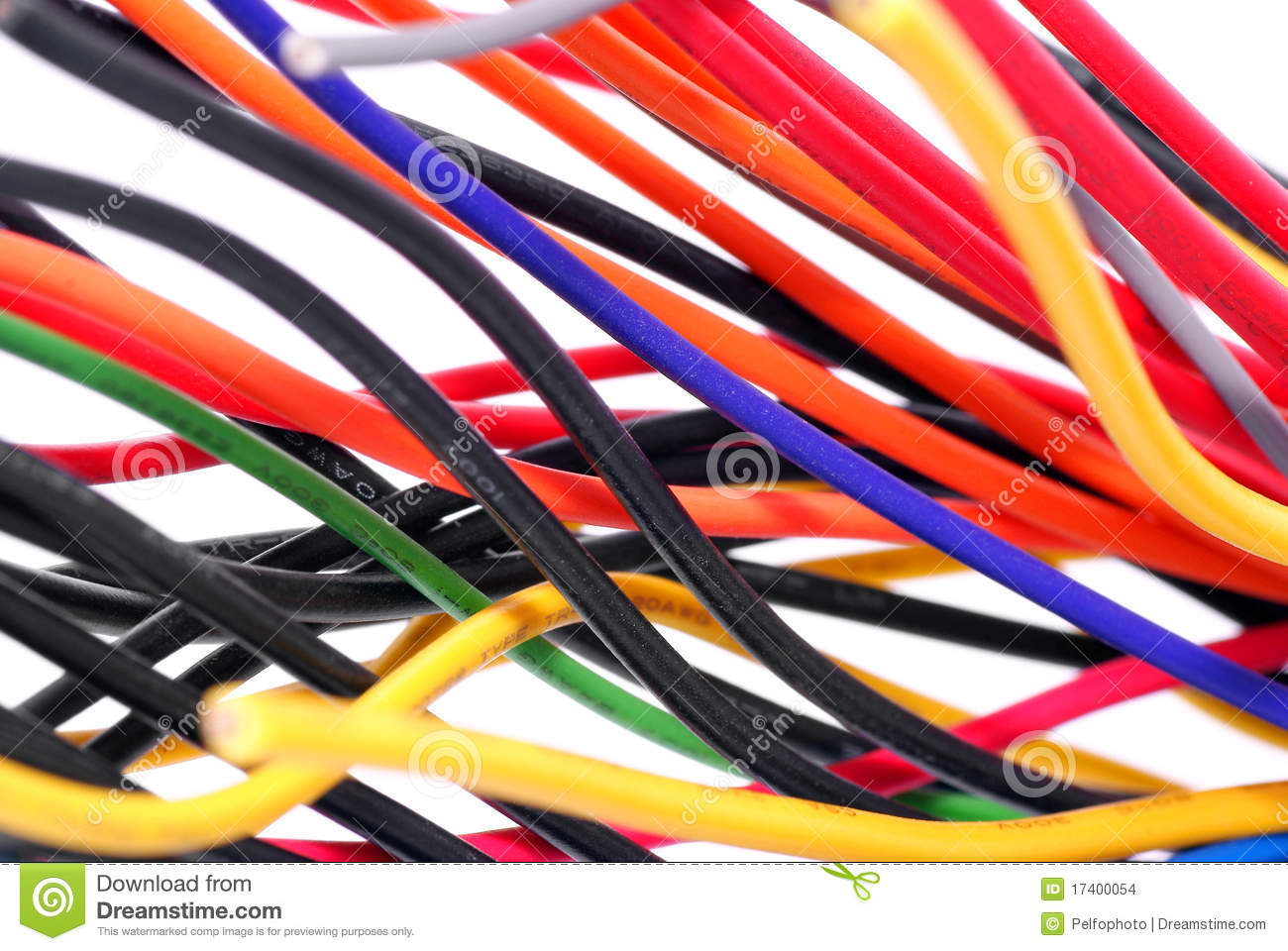 Electrical wires.