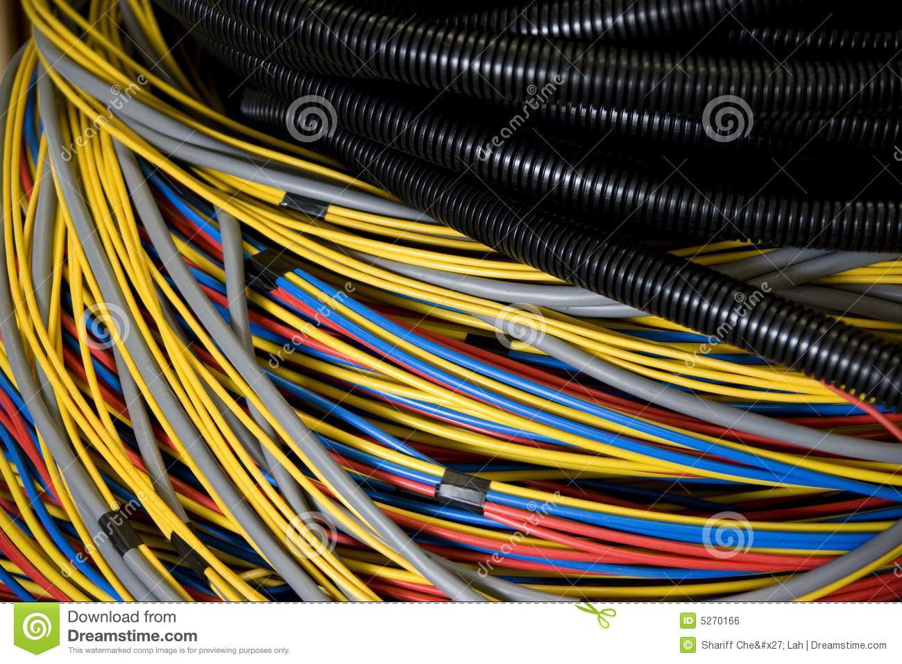 Electrical Wires Stock Photography - Image: 5270292