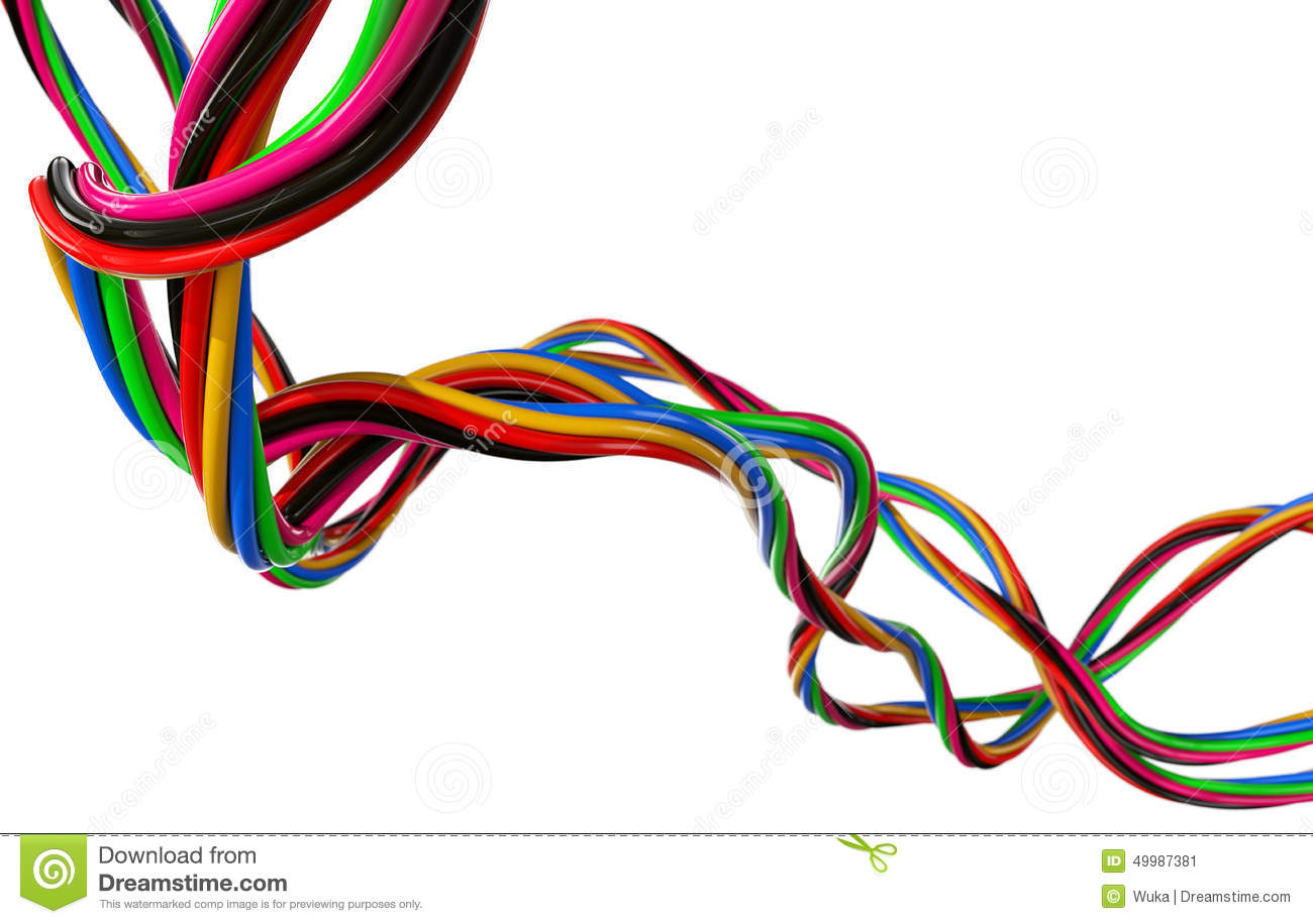 Electrical Wires stock image. Image of objects, curve - 49987381