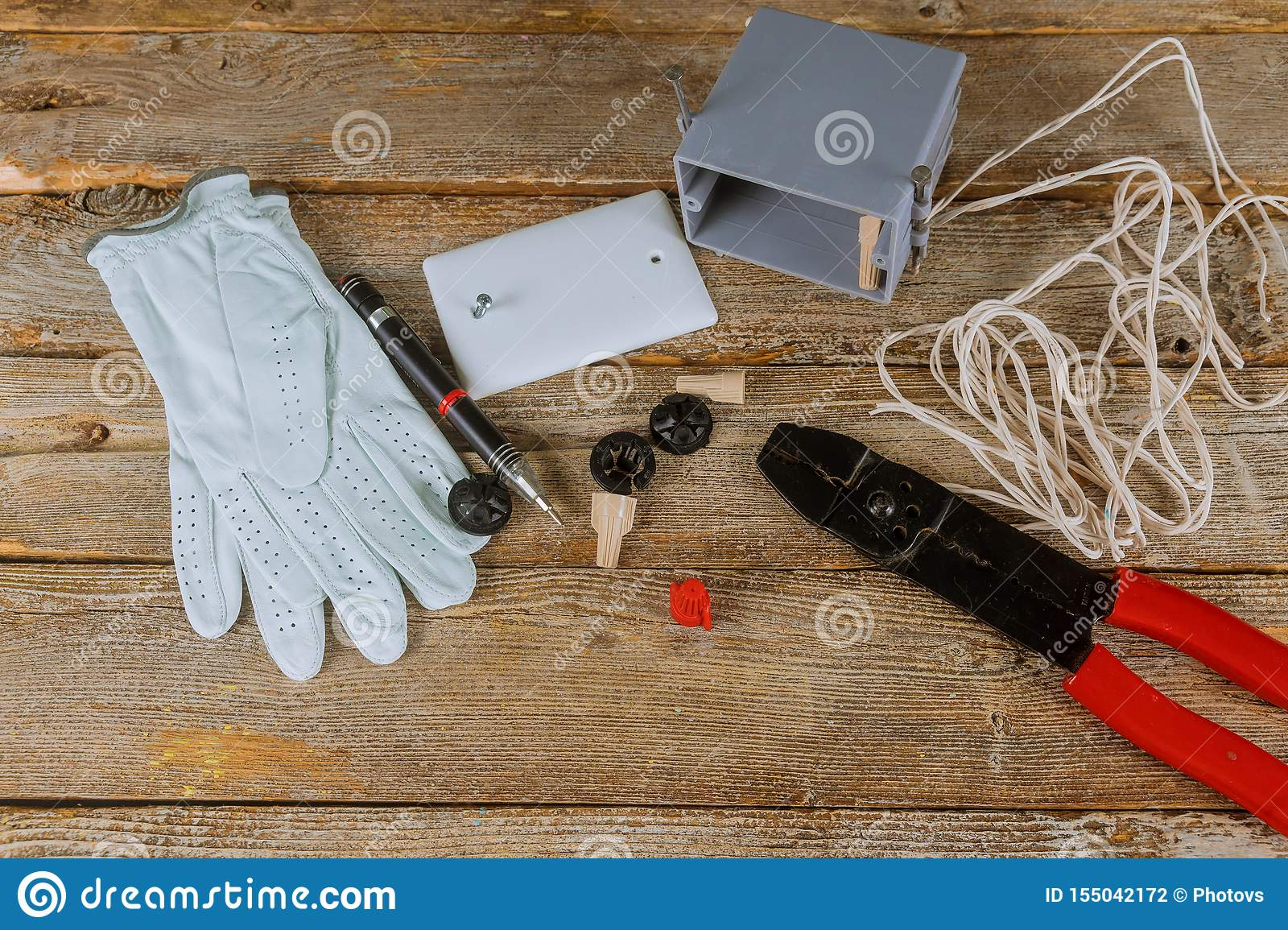 Electrical wires tying cables cutter pliers insulation