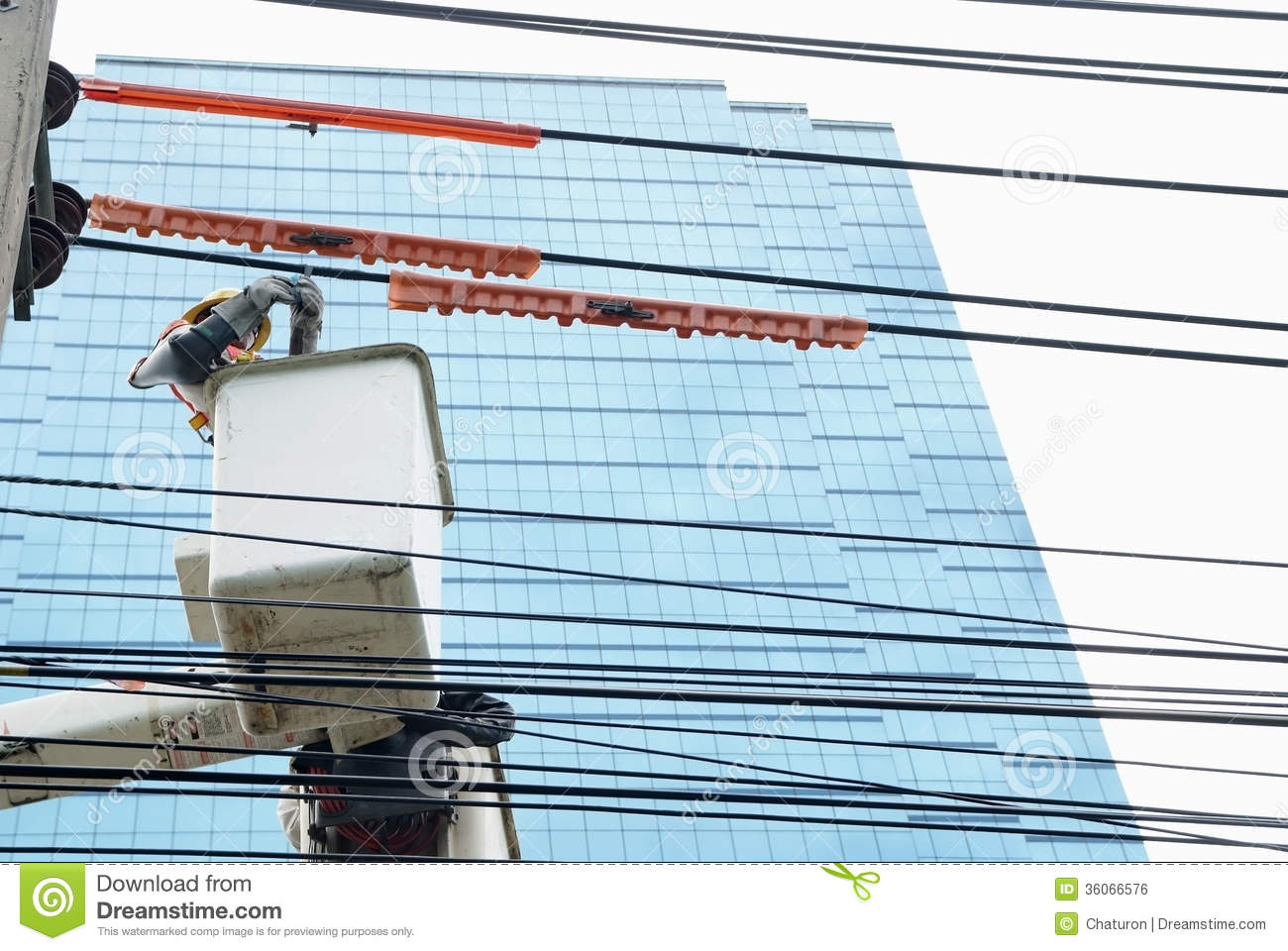 Electrician 2 Stock Photo Image Of Lift Hydraulic High 36066576 Wiring A Commercial Building Check The On Car Lifts