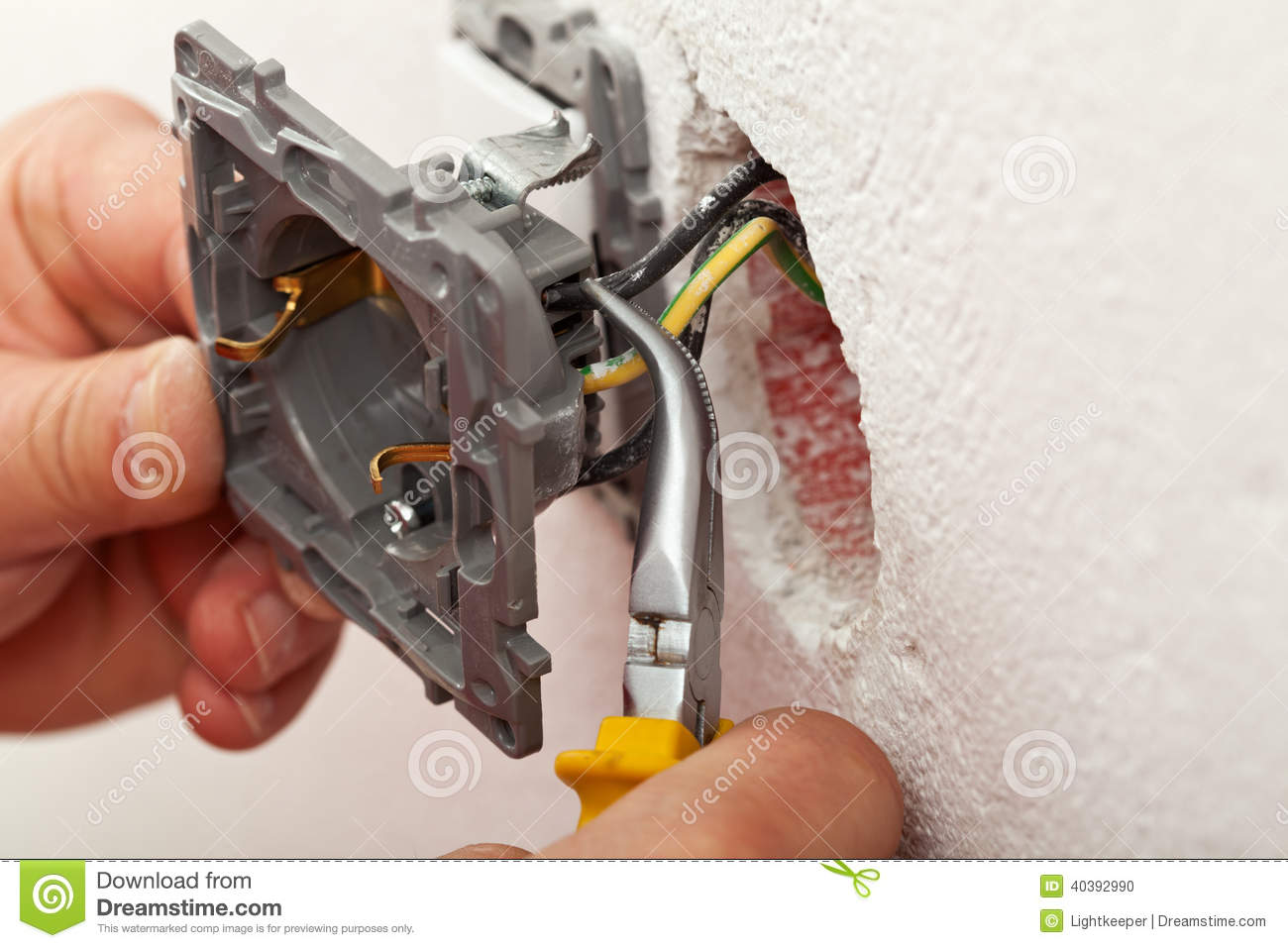 installing electrical outlet Part - 18:  installing electrical outlet great pictures