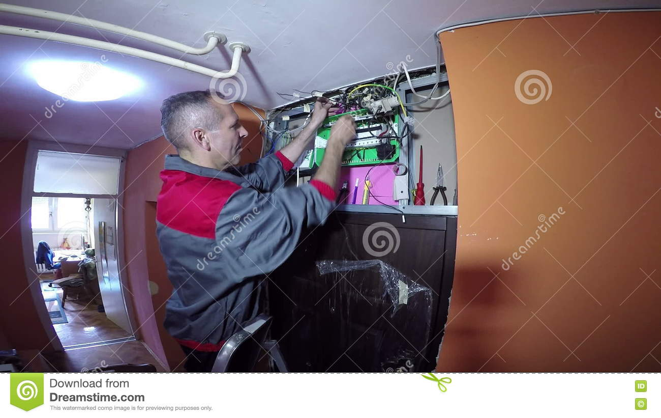 Strange Electrician Specializing In Electrical Wiring Of Buildings Stock Wiring 101 Akebretraxxcnl