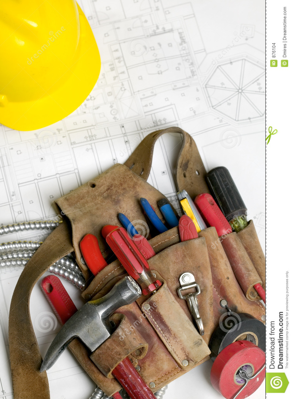 Electricians Tool Belt Stock Images Image 876104