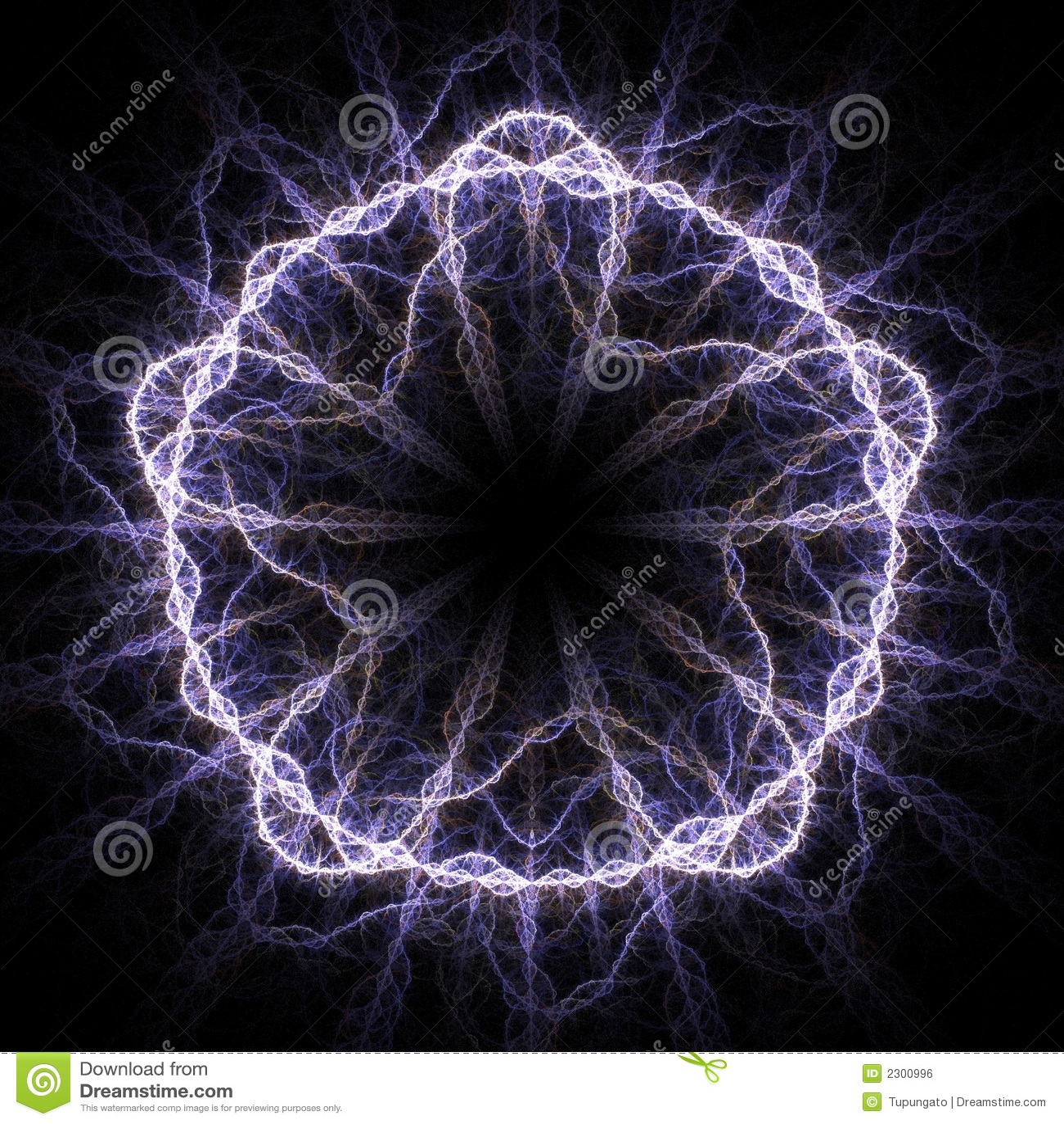Electricidad de alto voltaje 3d imagen de archivo libre de for Electricidad