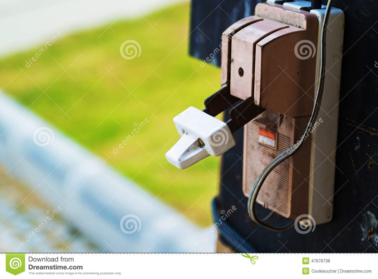 Electricity Circuit Breakers Stock Photo Image Of Cabinet Breaker Fuse Box