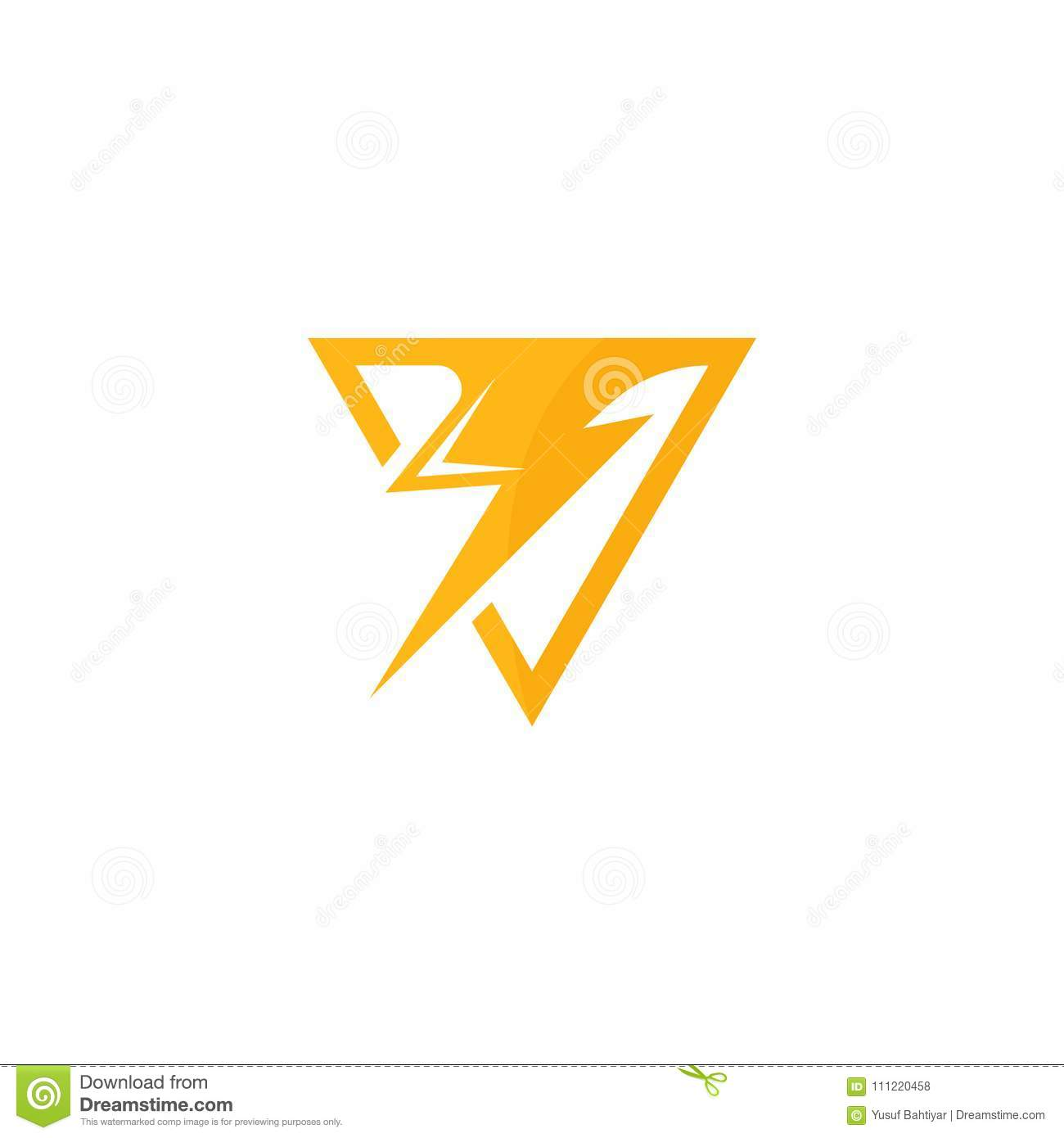 electricity logo vector art logo template for your