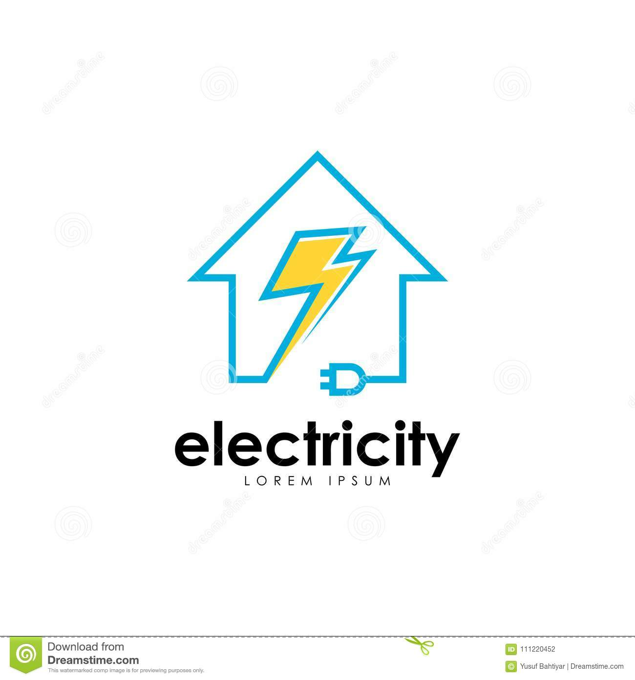 Electricity logo vector art logo template for your business stock download comp wajeb Gallery