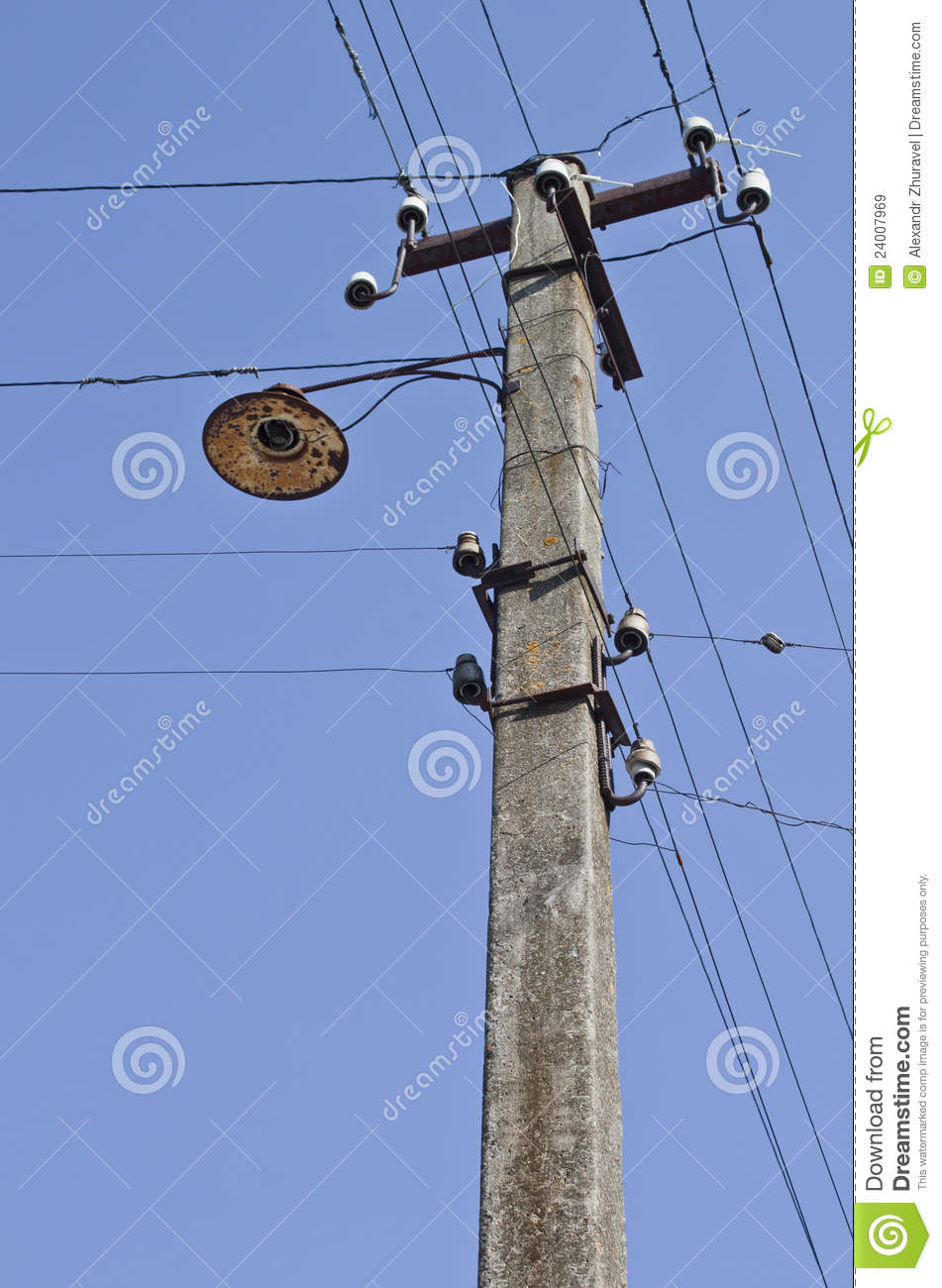 electrical post power line cables stock illustrations 6 electrical