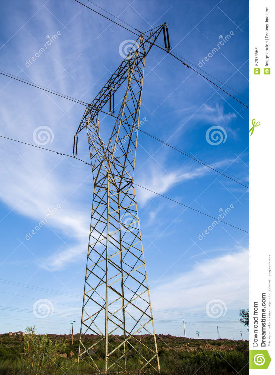 how to tell voltage of power lines