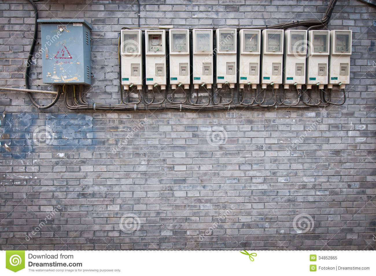 Cartoon House Fuse Box Trusted Wiring Diagrams Electrical Electricity Boxes And Meters In Apartment Building Stock Home Diagram