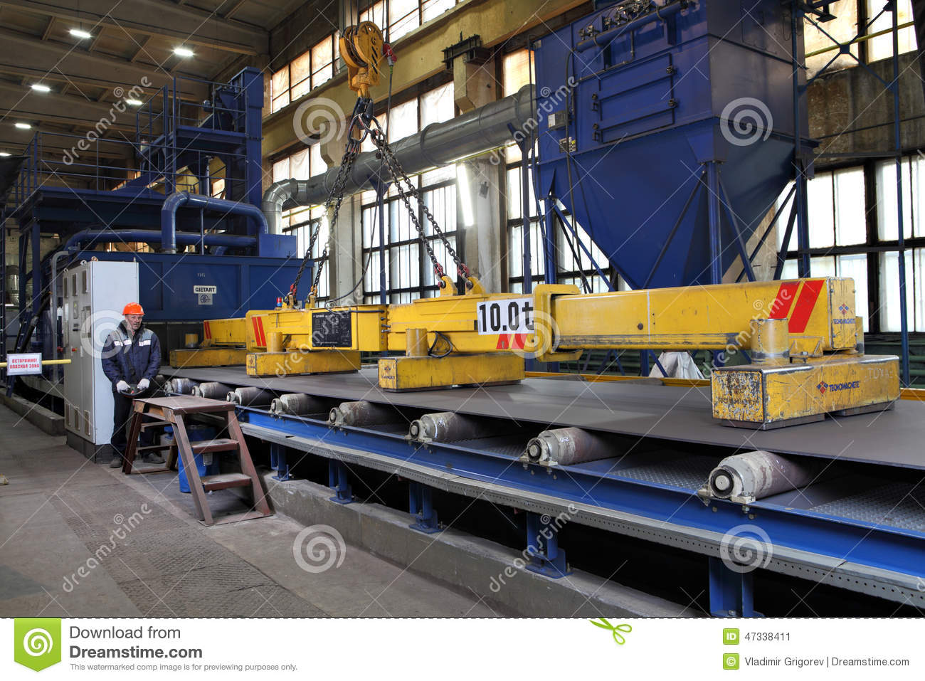 Steel Lifting : Electro lifting magnets for attracting and steel