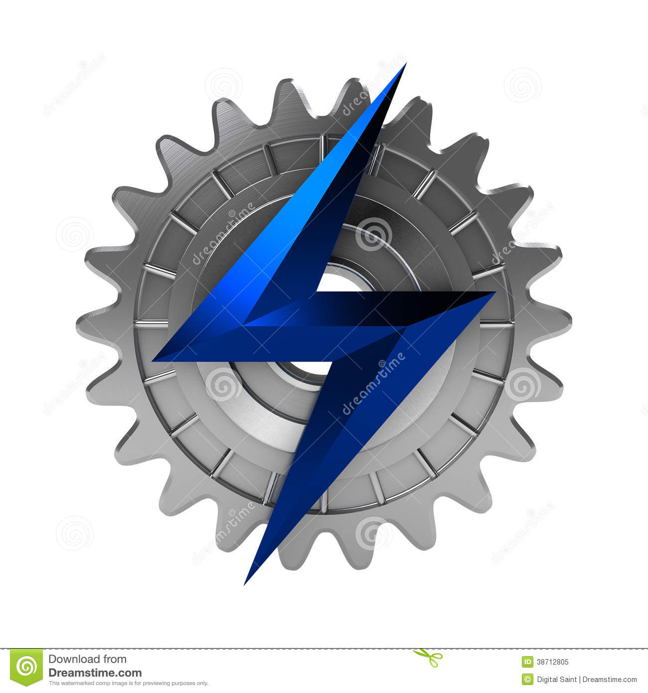 ElectroMechanical Icon Royalty Free Stock Photo - Image: 38712805