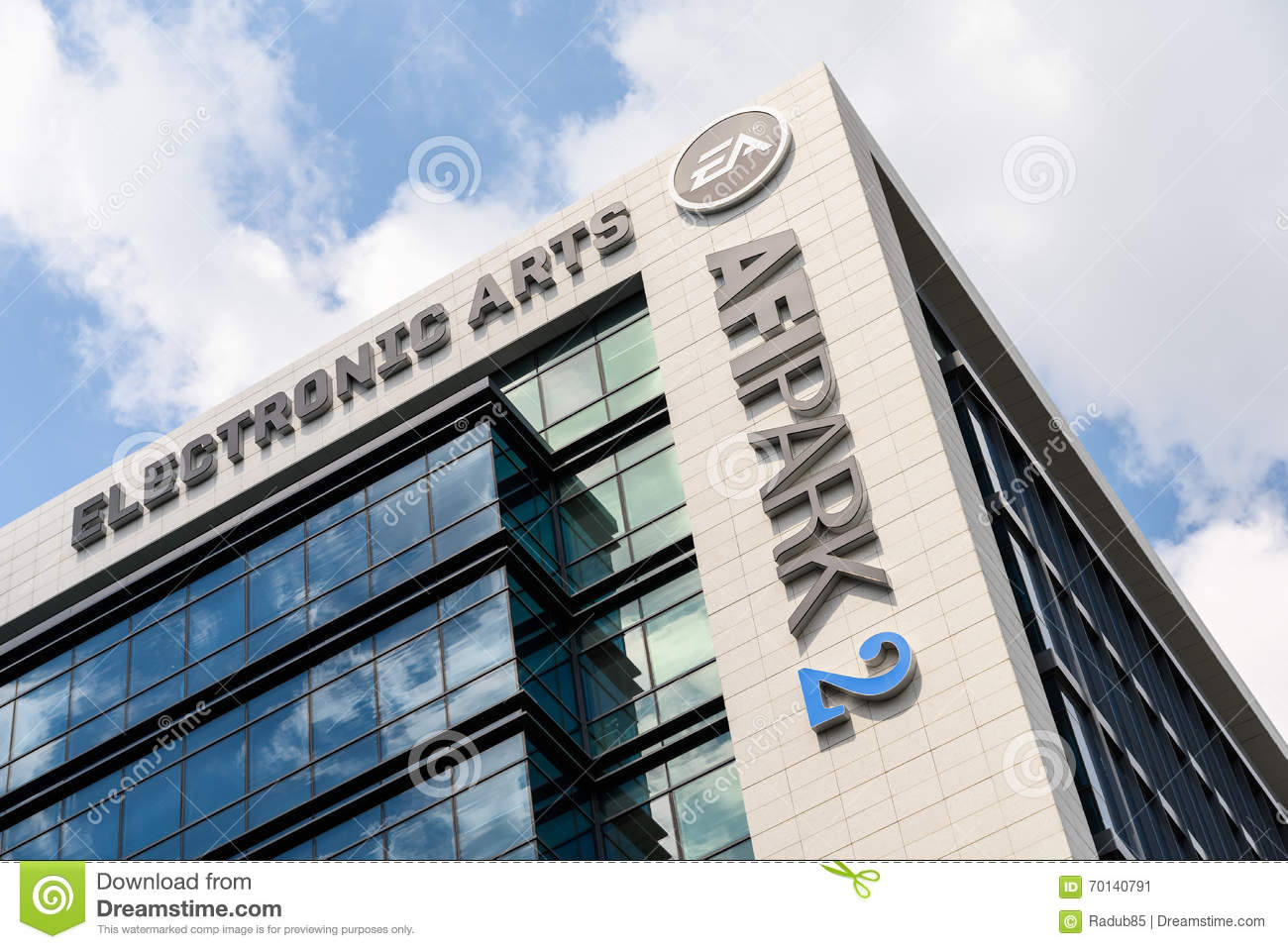 Electronic Arts Games Building Editorial Photo - Image of marketer, technology: 70140791