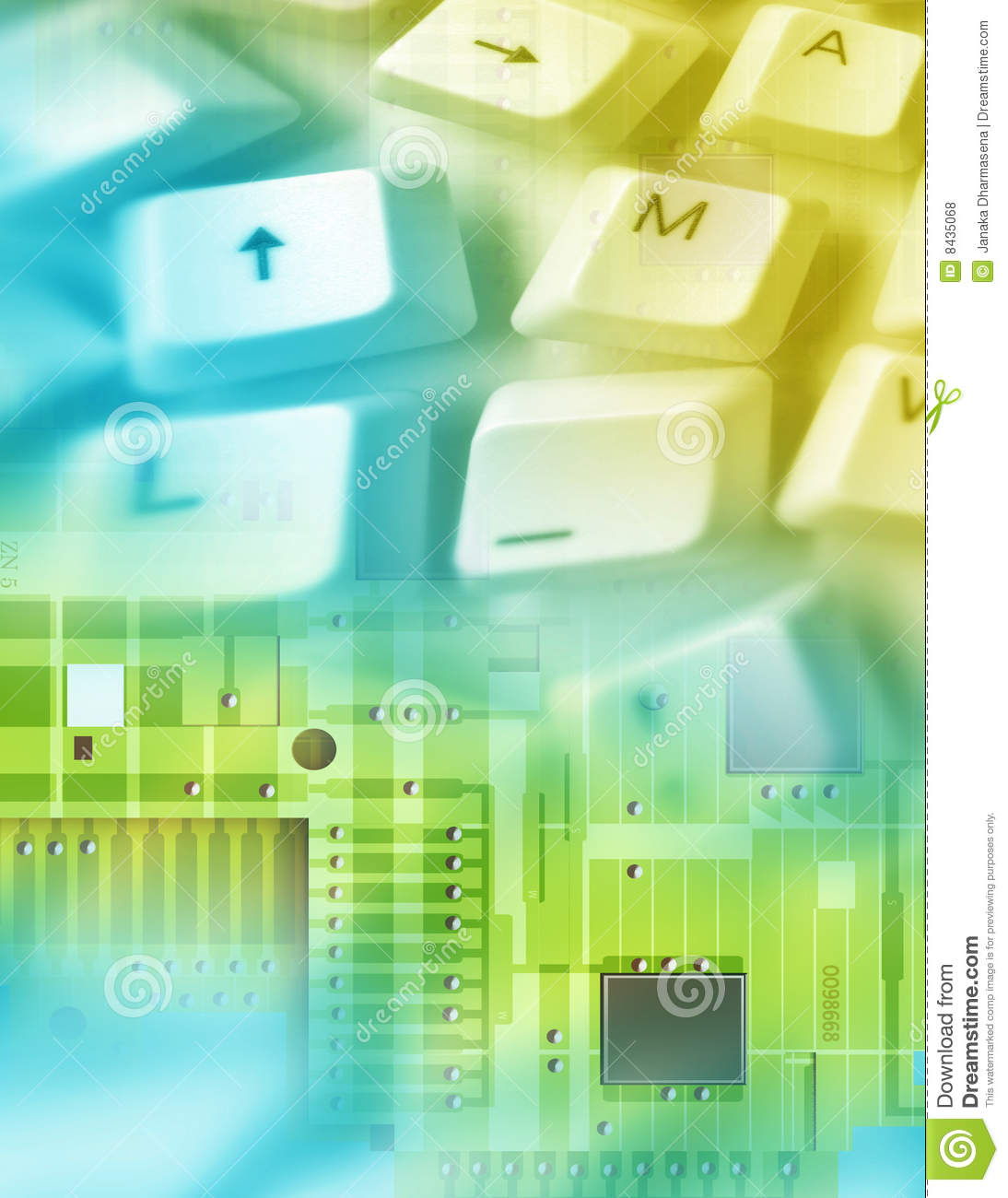 Electronic background stock photo. Image of closeup, abstract - 8435068