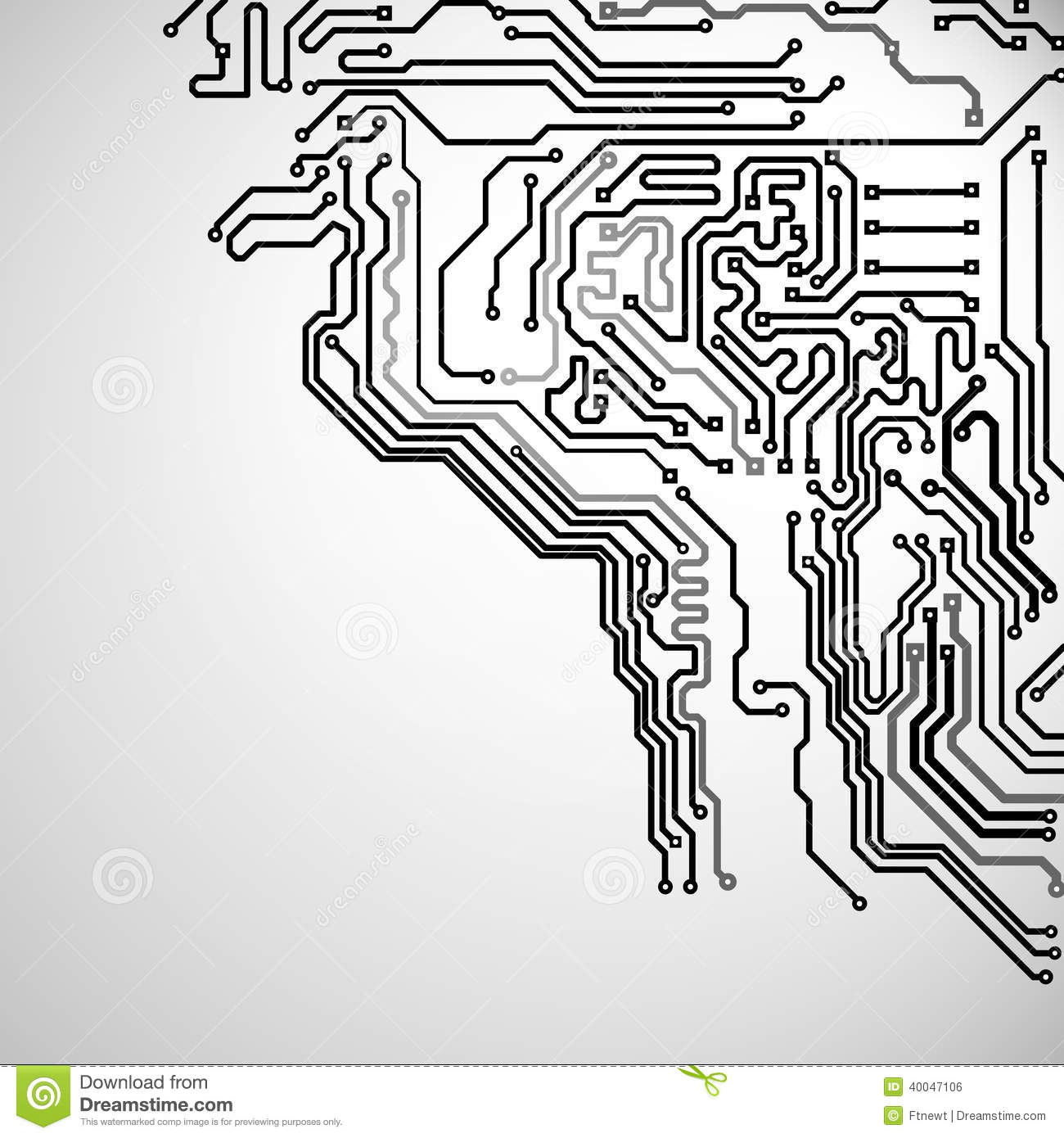 Electronic Background Stock Vector Illustration Of Information Circuit Board Free Photo Hd Public Domain Pictures With A Pattern