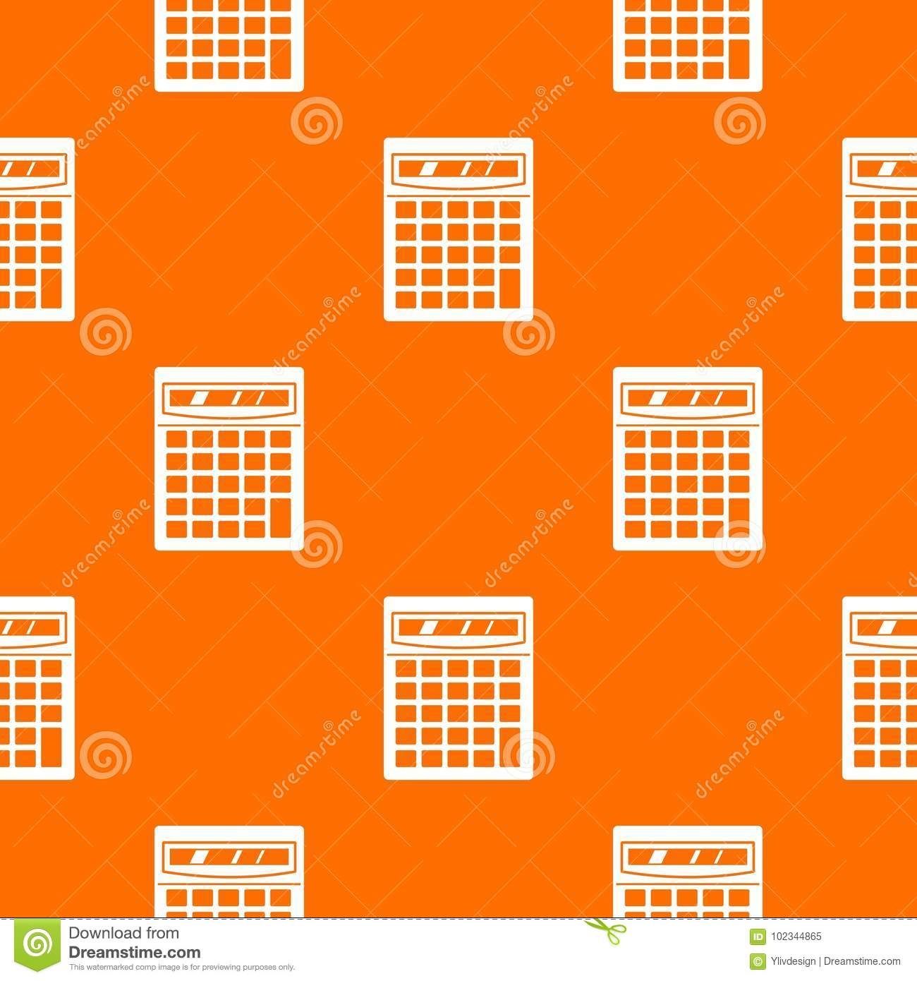 Electronic Pattern Making : Electronic calculator pattern seamless stock vector
