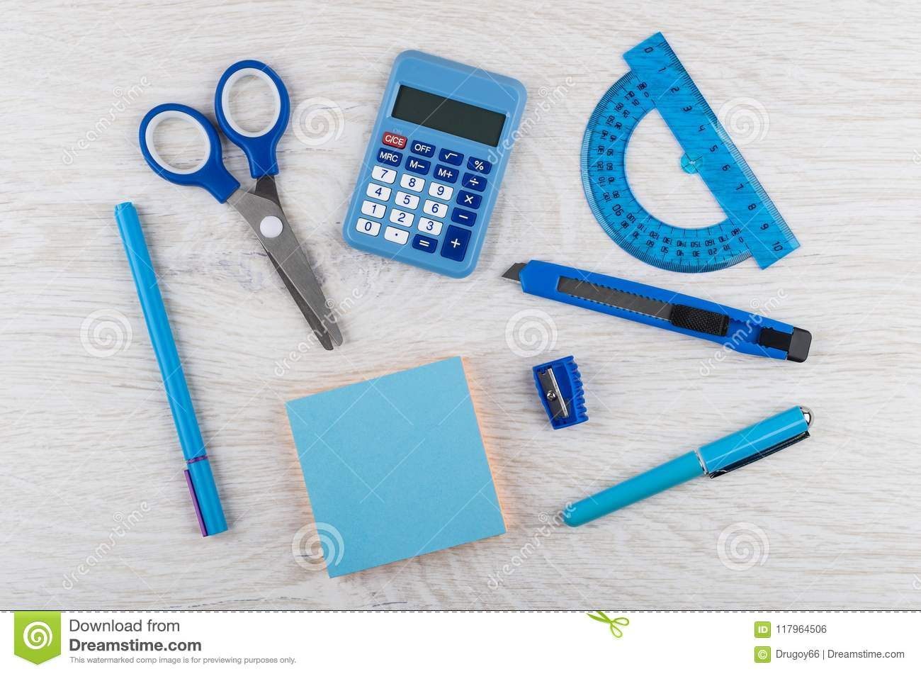 Back to school composition stock photo. Image of eraser 35212844.