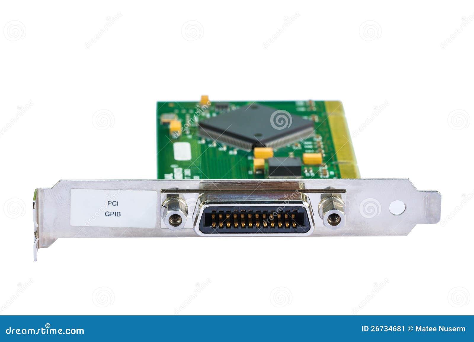 Electronic card (PCI card)