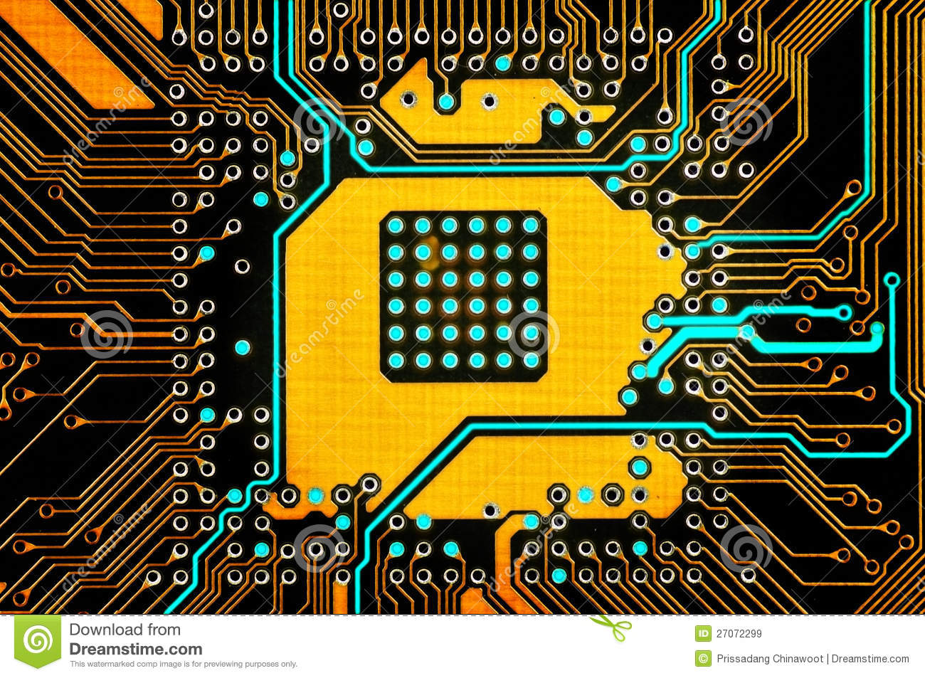 electronic circuit stock image image of system  digital