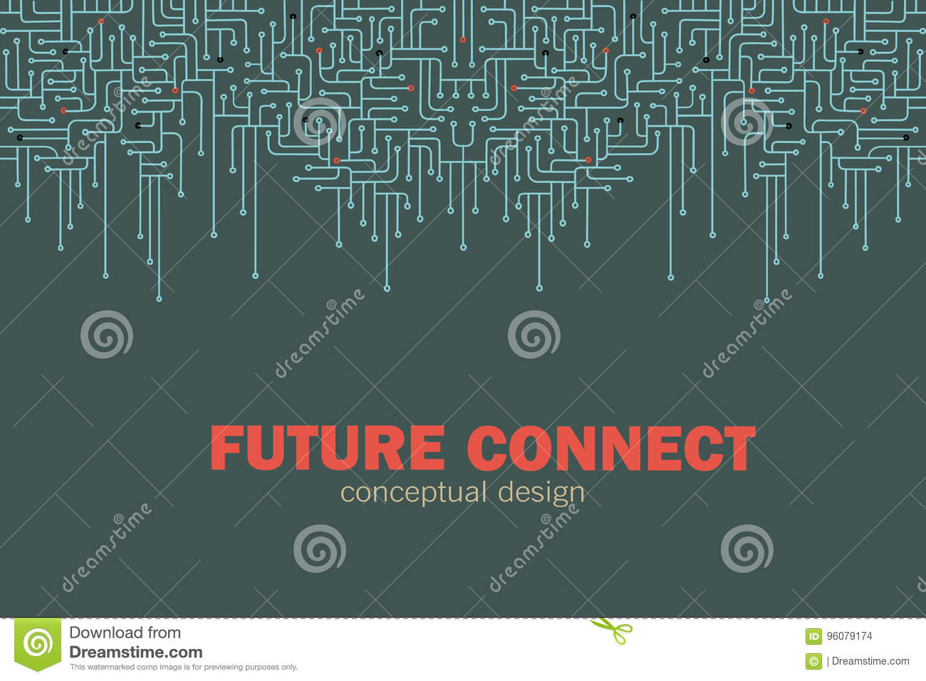 Electronic circuit background. Spu. Circuit lines design. Future concept