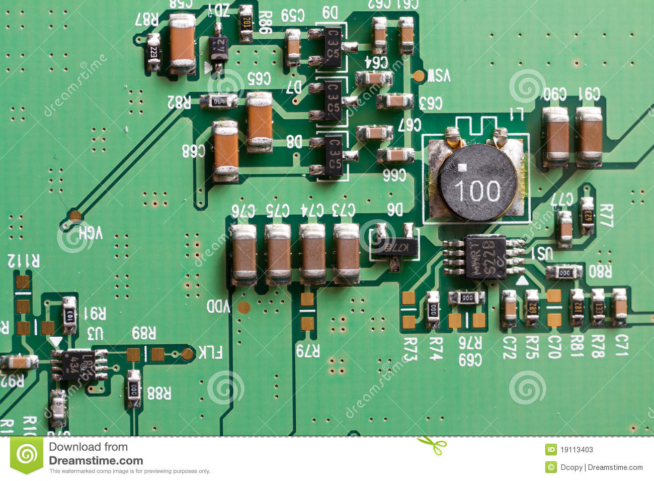 electronic circuit board stock image image of circuit 19113403 rh dreamstime com Simplest Electronic Circuit Boards Electronic Circuit Board Background