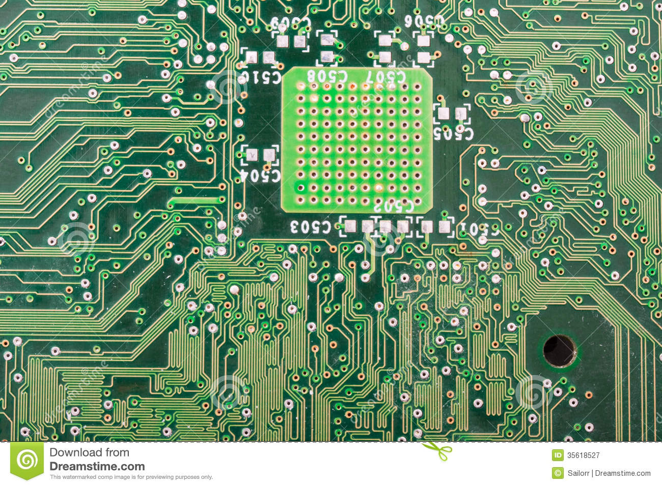 Electronic Circuit Board Stock Image Of Electrical 35618527 Electric