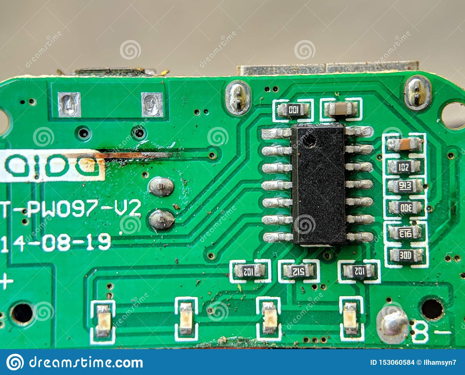 Electronic Circuit Board Integrated Circuit Ic Used For
