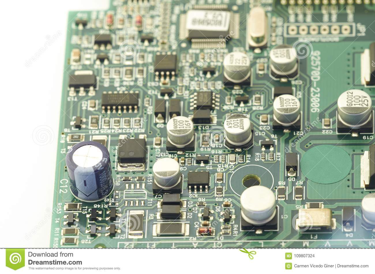 Electronic Circuit Board Pcb X28printed X29 With Boards Buy Printed Boardspcb Processor Microchips And Glowing Digital Signals
