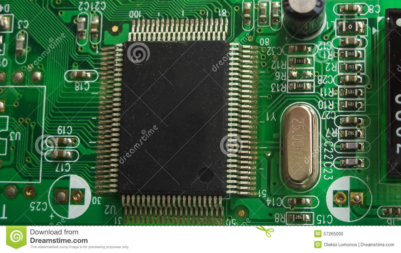 electronic circuit board with radio components stock photo image rh dreamstime com Circuit Board with Binary