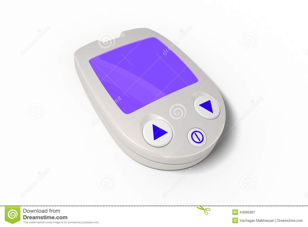 Electronic Timing Devices : Electronic device stock illustration image