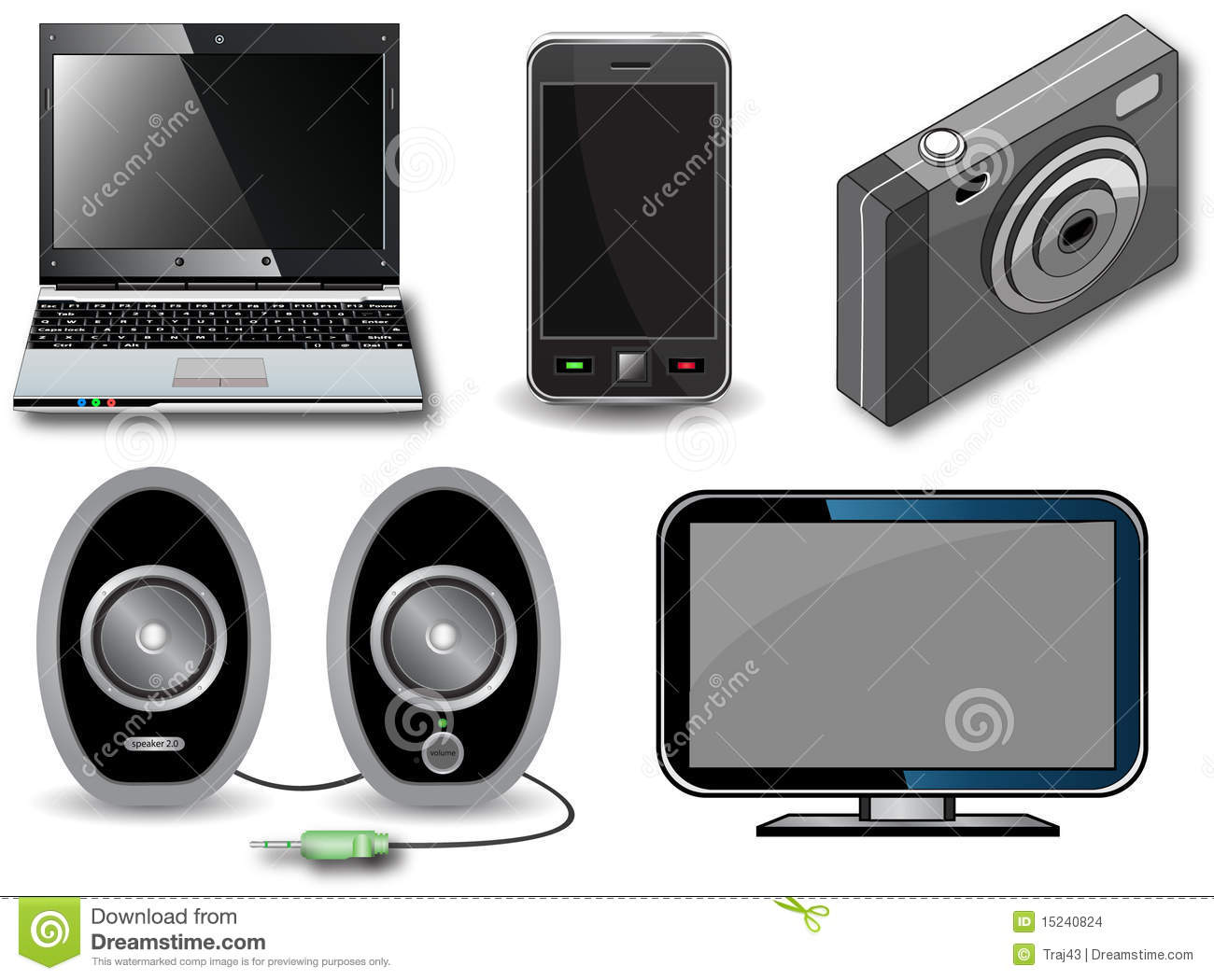 Electronic Devices Stock Images   Image  15240824