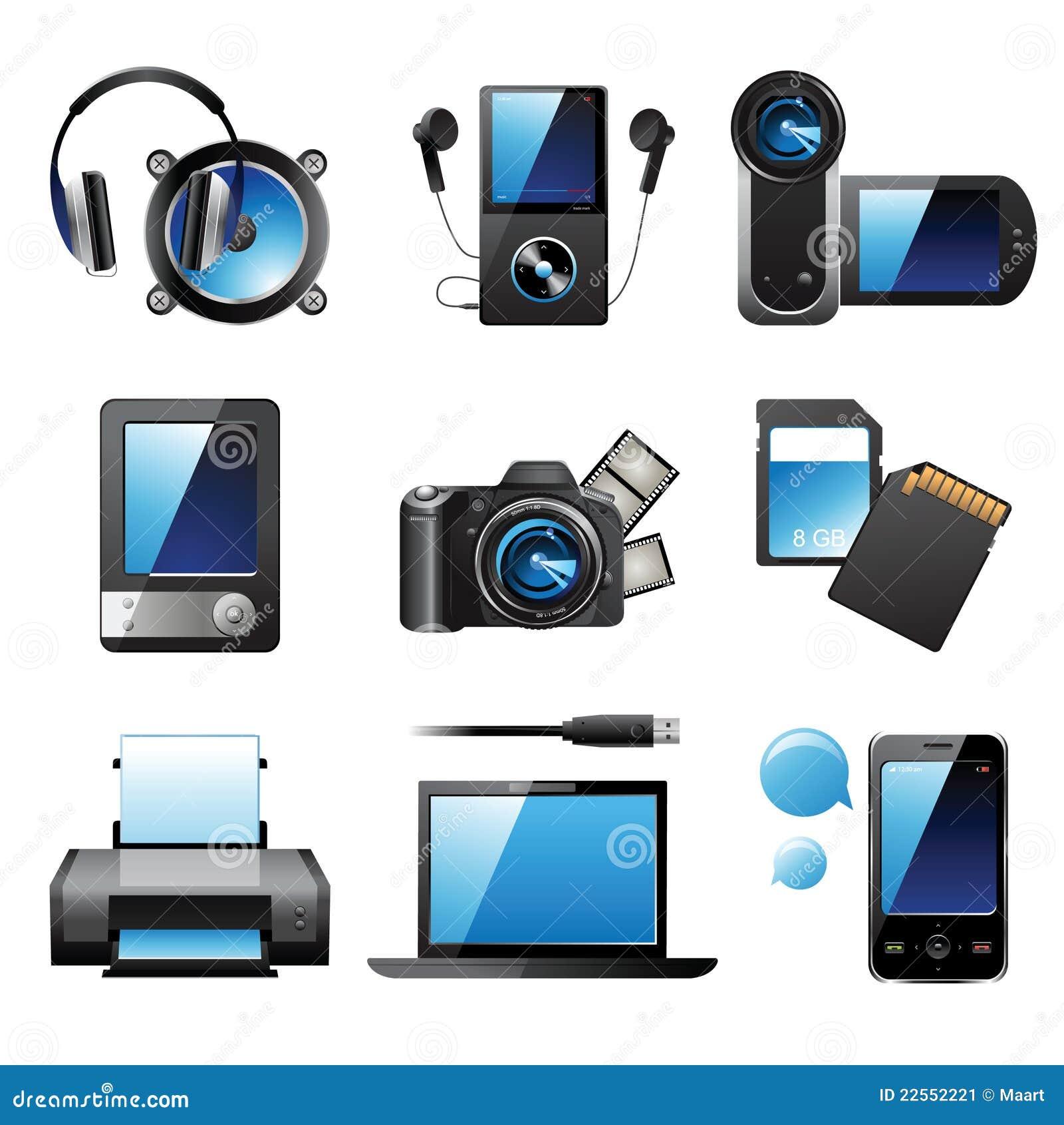 Electronic Devices Stock Image Image 22552221