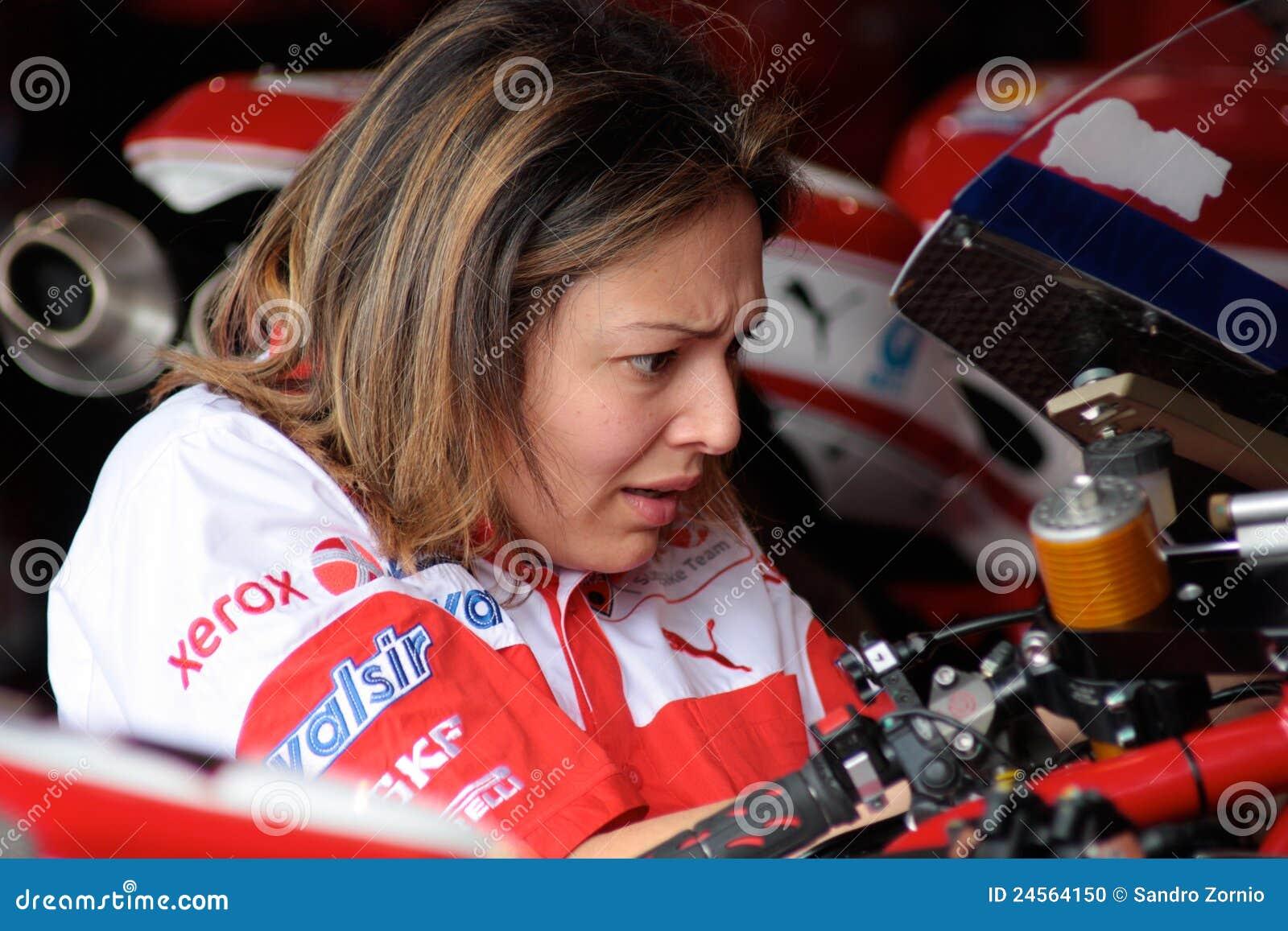 Electronic engineer Ducati 1998 Xerox team