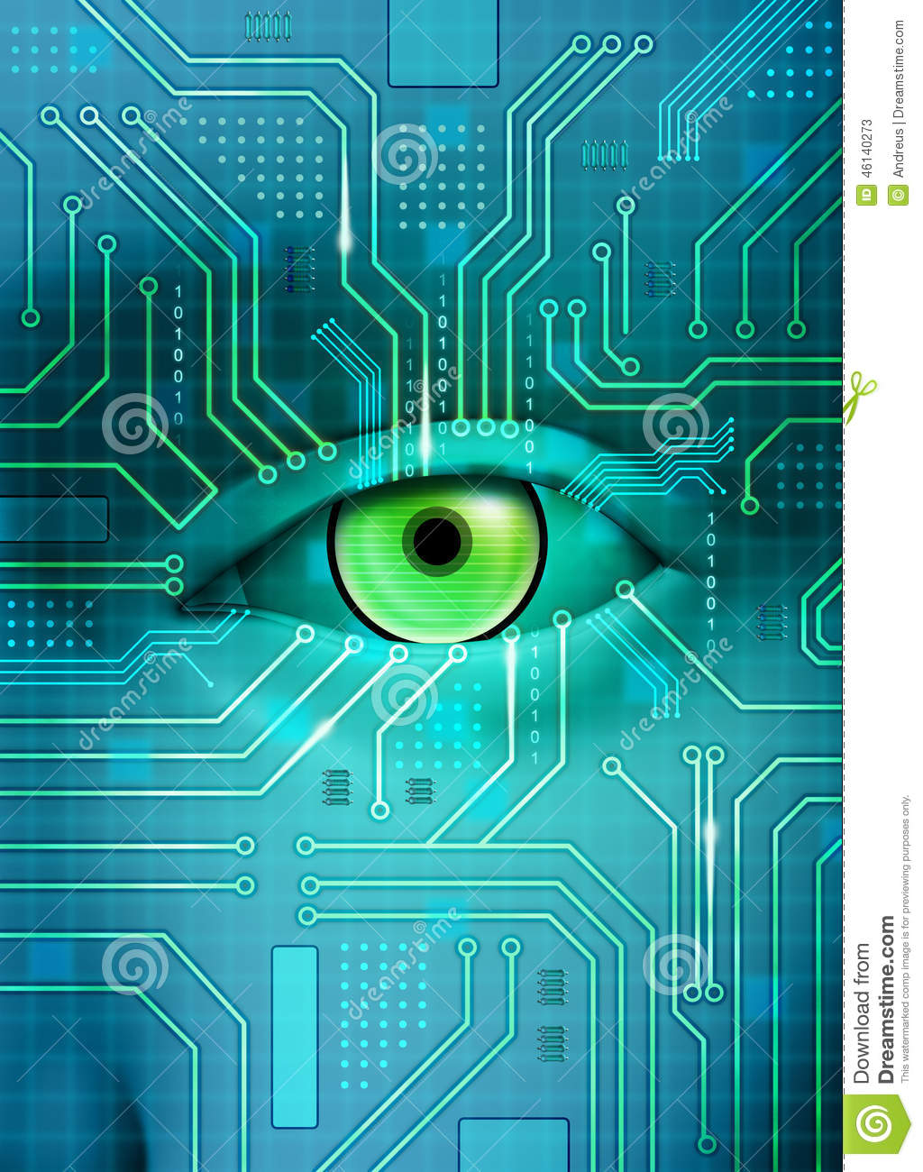 Circuit Board Eye Best Secret Wiring Diagram Pics Photos Desktop Wallpapers Printed Pictures Electronic Stock Illustration Of Chip 46140273 Rh Dreamstime Com