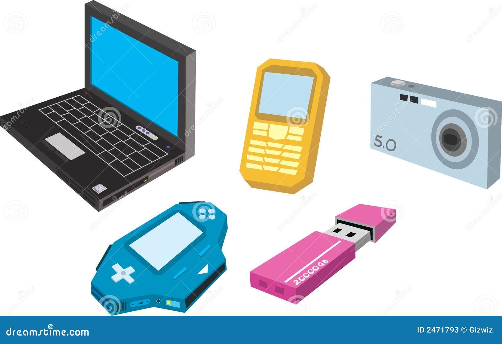 electronic gadget stock photos image 2471793