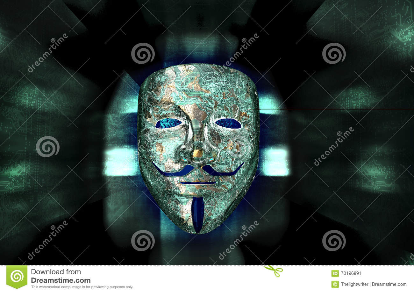 Computer Hacker Symbol Anonymous Mask Stock Illustrations – 48 ...