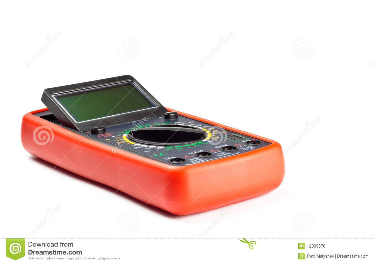 Electronic Measuring Devices : Electronic measuring device stock photo image