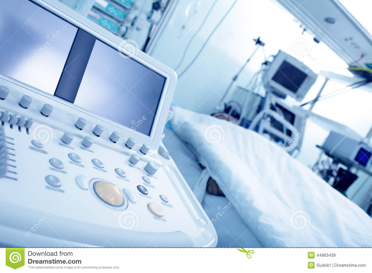 Electronic Medical Instruments : Electronic medical devices stock image of human