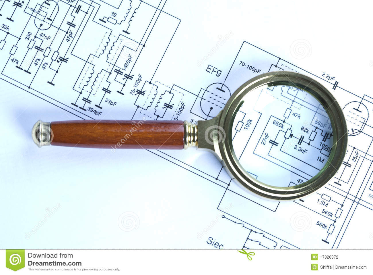 electronic schematic diagram stock photo image of graphic, circuit