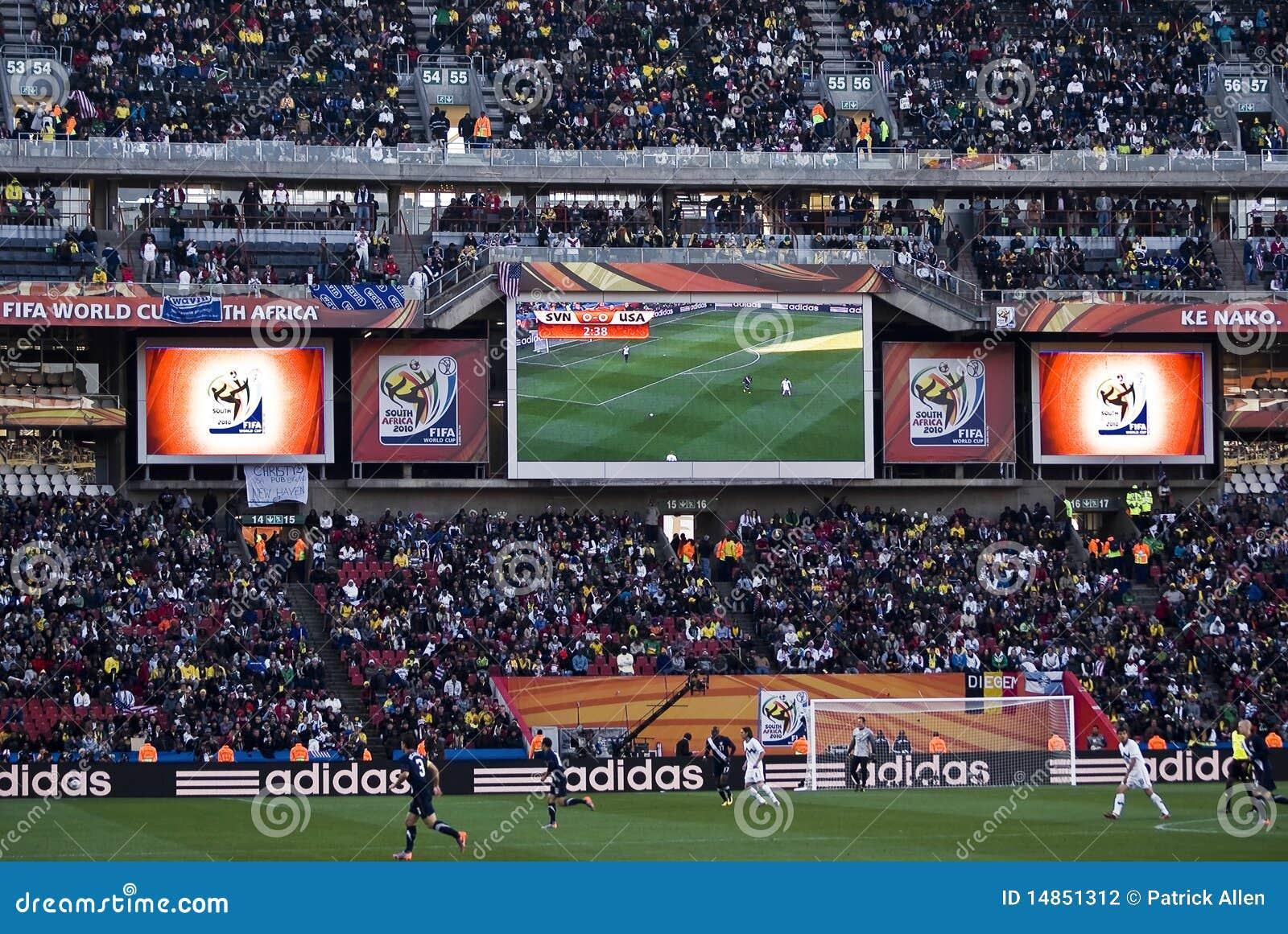 Electronic Scoreboard - FIFA WC