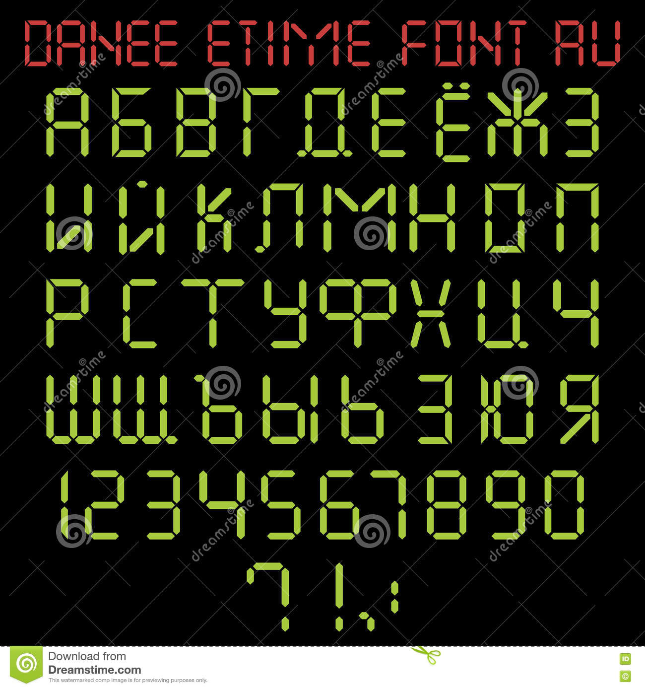 Time In Russian Alphabet And 108