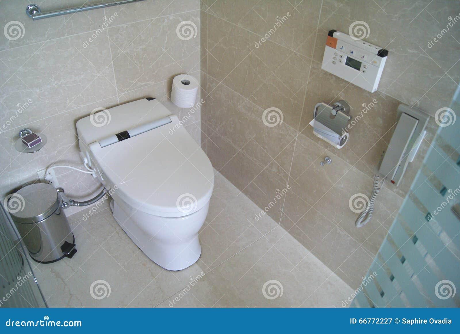 Electronic Toilet Seat. Bidet. Electronic Bidet. Stock Illustration ...